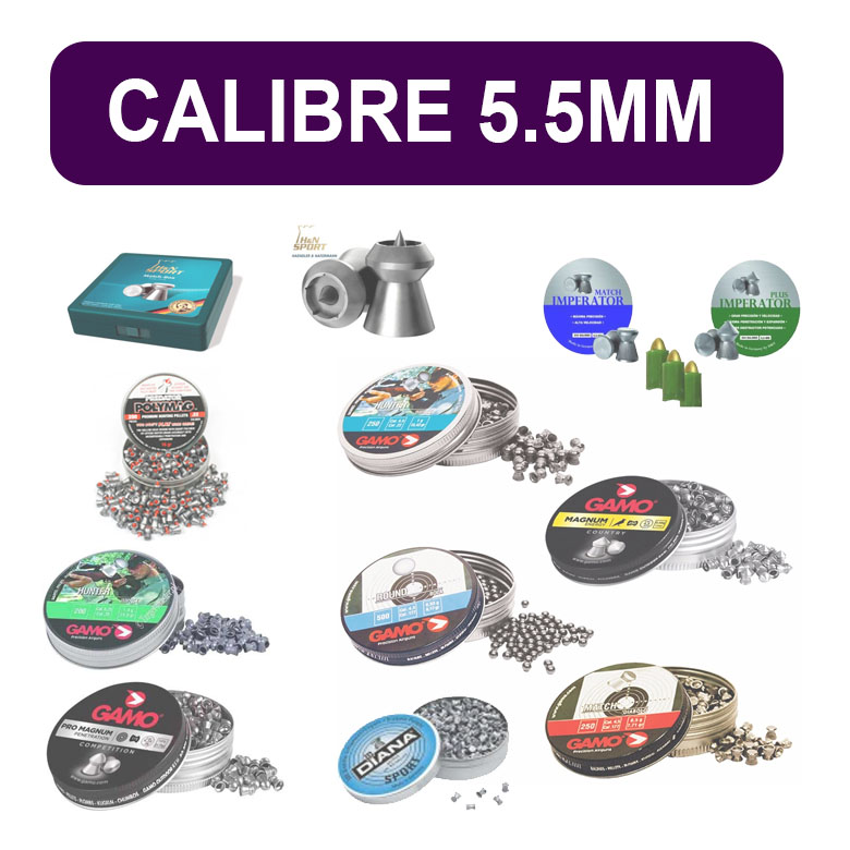 Balines calibre 5.5mm