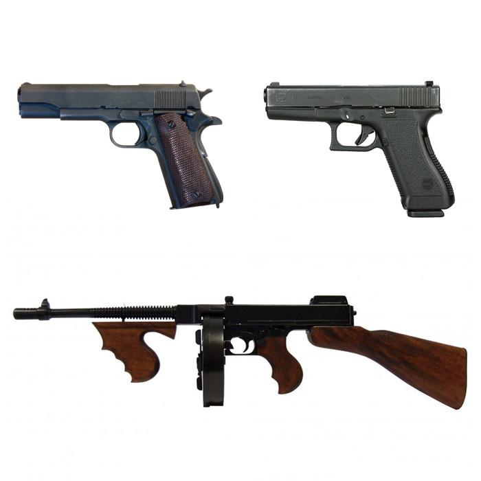 Réplicas de armas de fuego