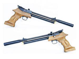 Pistolas PCP de balines PP800 con silencidor