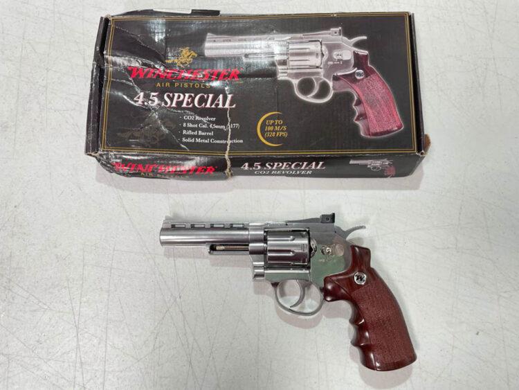 revolver perdigones winchester 45 especial