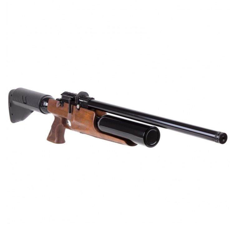 carabina PCP Puncher madera