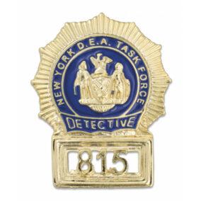 placa detective nueva york