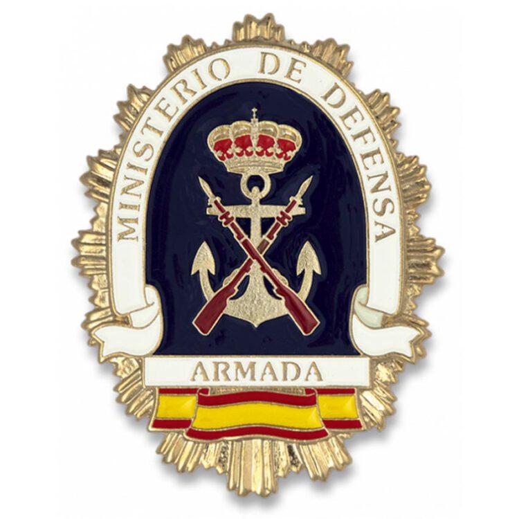 placa ministerio defensa armada
