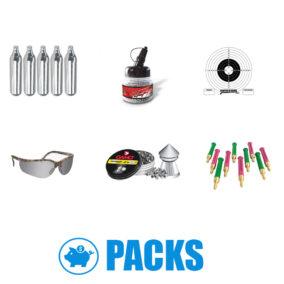 Packs de munición y accesorios
